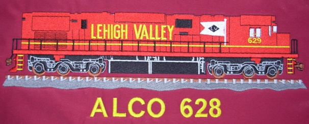 Embroidered Railroad Garments